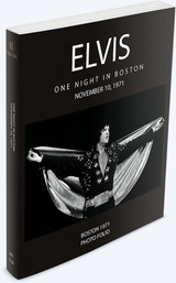 Elvis: One Night in Boston, November 10, 1971 Book | Elvis Presley