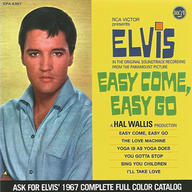 "Elvis: Easy Come, Easy Go CD : FTD Special Edition / Classic Movie Soundtrack Album 7"" Presentation"
