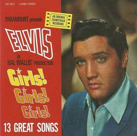 "Elvis Girls! Girls! Girls! CD : FTD Special Edition / Classic Movie Soundtrack Album 7"" Presentation (Elvis Presley)"