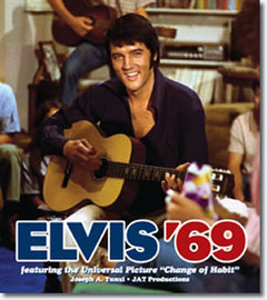 Elvis '69 Hardcover Book Featuring all of 1969 including the Film 'Change of Habit' (JAT)