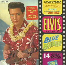 "Elvis Presley : Blue Hawaii 2 CD | FTD Special Edition / Classic Movie Soundtrack Album 7"" Presentation"