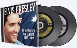 Elvis Presley 50 Australian Top Ten Hits 1956-1977 2 CD Set