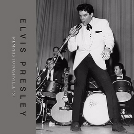 Elvis : Memphis To Nashville '61 Elvis Presley Book incl. CD (FTD)