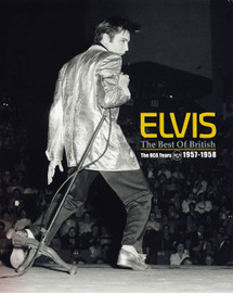 Best of British : The RCA Years 1957-1958 : Hardcover Book + 2 CDs (Elvis Presley)
