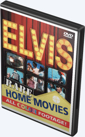 Elvis Presley Rare Home Movies in Color DVD
