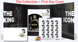 The Forever Elvis Collection + First Day Cover (US Post Office Elvis Presley Issue)