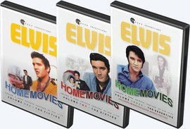 Elvis Home Movies 50s | 60s | 70s | 3 DVD Set