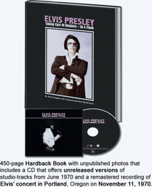 Elvis: 'Taking Care Of Business - In A Flash' Hardcover Book and CD