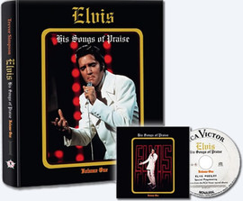 Elvis 'His Songs of Praise' Hardcover Book and CD from Follow That Dream Books