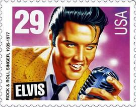Elvis Stamp 1993