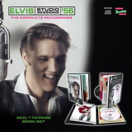 Elvis Studio Sessions '56 3 CD Set from MRS
