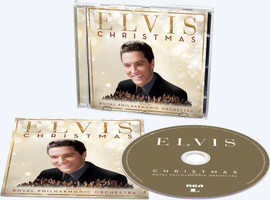 'Elvis Presley: Christmas With Elvis And The Royal Philharmonic Orchestra' CD