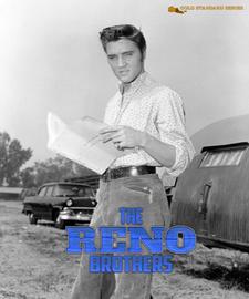 Elvis: 'The Reno Brothers' (Love Me Tender) Hardcover Book