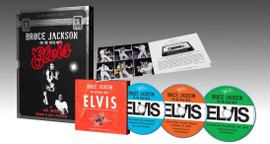 Bruce Jackson On The Road With Elvis Hardcover Book (in Slipcase) + 3 CD Set