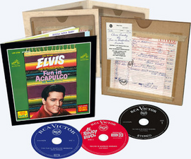 Elvis: The Fun In Acapulco Sessions 3 CD Box Set