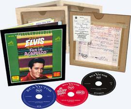 Elvis: The Fun In Acapulco Sessions 3 CD Box Set | Elvis Presley
