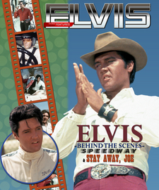 Elvis: Behind The Scenes Speedway & Stay Away Joe 400 page Hardcover Book