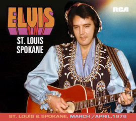 Elvis: St. Louis / Spokane Soundboard Concert FTD 2 CD
