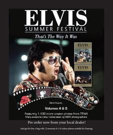 Elvis: Summer Festival Volume 4 & 5 Deluxe 2 Book Set