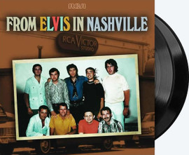 From Elvis In Nashville 2 LP Vinyl Record Set from Sony Music