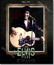 The Elvis Files Volume 5 1969-1970 : Hardcover Book : 560 pages, 1.60 + photos