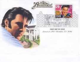 Graceland : First Day Of Issue (Elvis Presley)