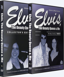 Elvis, The Beauty Queen & Me Volumes 1 and 2 DVDs (Elvis Presley)