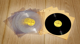 "BOTH sets Black and Clear Elvis Sun 78rpm 10"" Vinyl Releases"