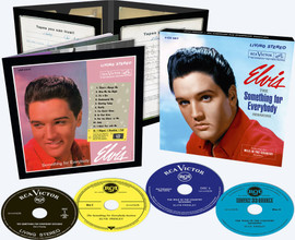 Elvis: The Something For Everybody Sessions (Inc The Wild In The Country Sessions) 4 CD Box Set | Elvis Presley