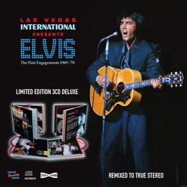 Las Vegas International Presents Elvis - The First Engagements 1969-70 3 CD Set from MRS | Elvis Presley.