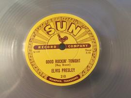"Clear | Elvis: Good Rockin' Tonight / I Don't Care If The Sun Don't Shine 10"" Vinyl | Elvis Presley"