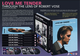 Elvis: Love Me Tender - Through The Lens Of Robert Vose Hardcover Book | FTD | Elvis Presley