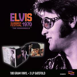 Elvis: Summer Festival 1970 - The Rehearsals (3LP 180g Gatefold) | Elvis Presley | Vinyl Record Set