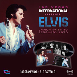 Las Vegas International Presents Elvis - January Thru February 1970 (2LP 180g Gatefold) | Elvis Presley | Vinyl Record Set