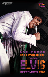 Las Vegas International Presents Elvis - September 1970 CASSETTE from MRS