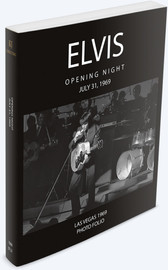 Elvis: Opening Night Las Vegas July 31, 1969 Book | Elvis Presley