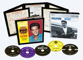 Elvis: The Pot Luck Sessions 5-CD Box Set from Follow That Dream (FTD)