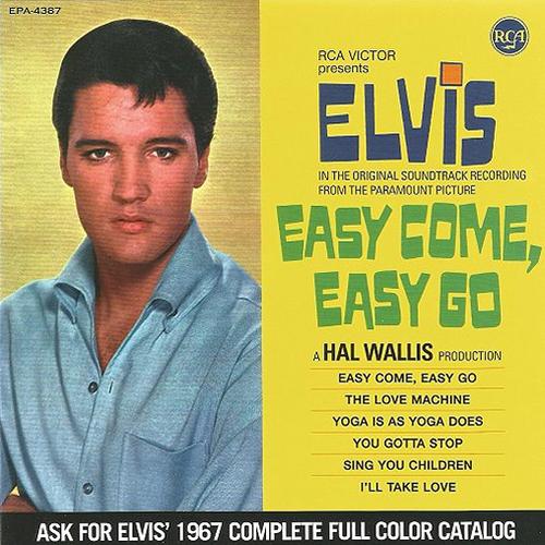 "Elvis: Easy Come, Easy Go CD : FTD Special Edition / Classic Movie Soundtrack Album 7"" Presentation"