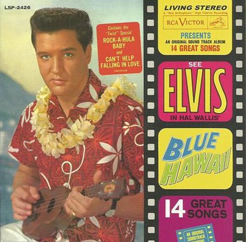 "Elvis Presley : Blue Hawaii 2 CD | FTD Special Edition / Classic Movie Soundtrack Album 7"" Presentation"