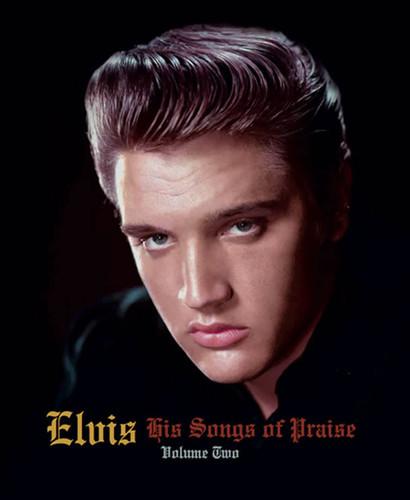 Elvis: His Songs Of Praise Vol. 2 Hardcover Book + CD