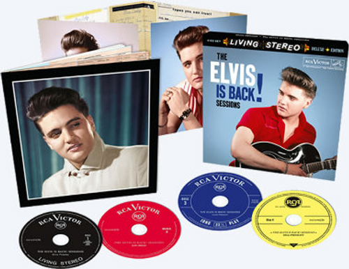 The Elvis Is Back Sessions 4-CD Set from FTD