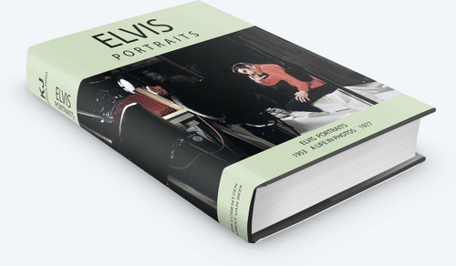 Elvis Portraits Large Hardcover Book by Erik Lorentzen