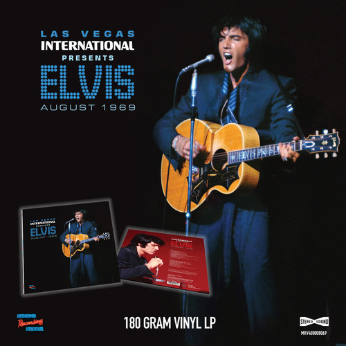 Las Vegas International Presents Elvis - August 1969 (LP 180g)   Elvis Presley   Vinyl Record Set