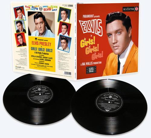 Elvis: Girls! Girls! Girls! 180 Gram Limited Vinyl Edition 2 LP Record Set from FTD Vinyl