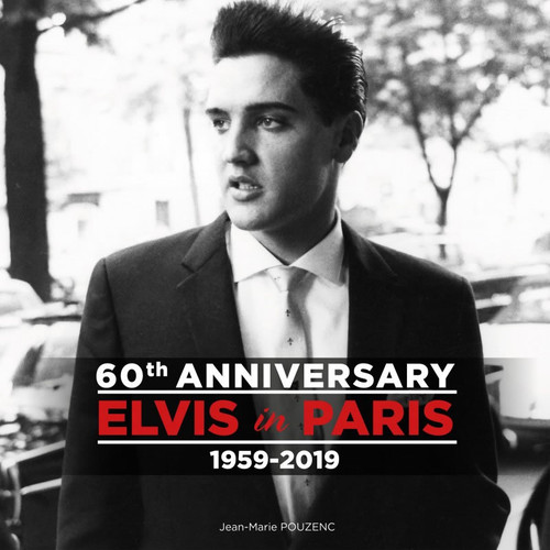 Soft Cover | Elvis In Paris Book | Rerelease of the book Elvis à Paris