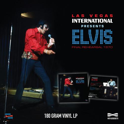 Las Vegas International Presents Elvis - Final Rehearsal 1970 LP 180-gram Vinyl Record from MRS