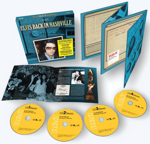 Elvis Back In Nashville 4 CD Box Set from Sony Music
