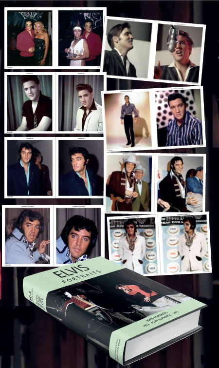 Elvis Portraits Book.