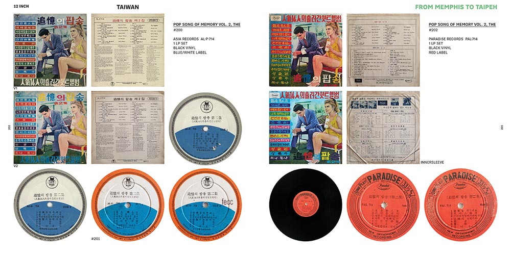 From Memphis to Taipeh is a reference guide to the colorful magic of Elvis' Asian vinyl.