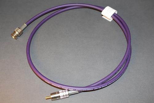 75 Ω Apogee Wyde Eye S/PDIF (RCA) to Word Clock (BNC) Cable